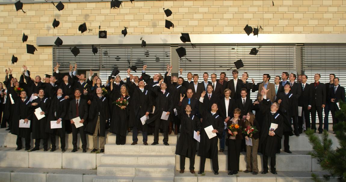 Abschlussfeier an der FH Wedel