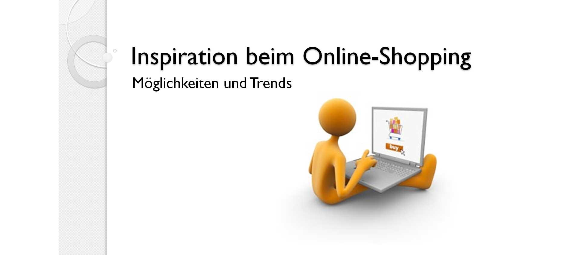 Inspiration beim Online-Shopping