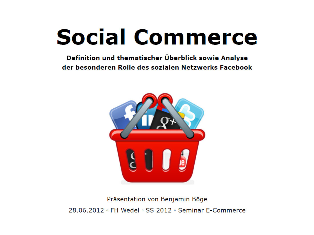 Benjamin Böge - Social Commerce
