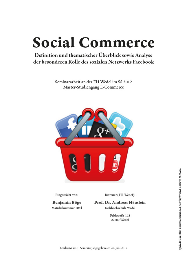 Seminararbeit Social Commerce