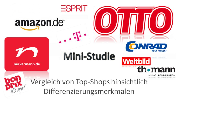 Mini-Studie zu Top-Shops