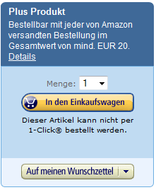 Amazon Plus Produkt