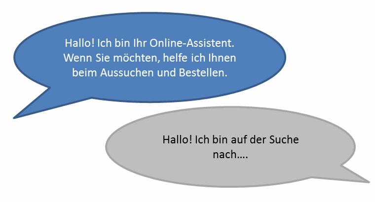 Illustration einer aktiven Chat-Beratung