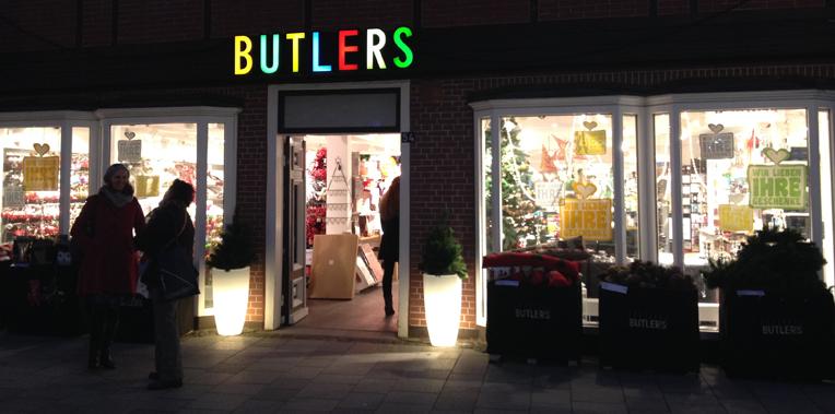 Butlers Filiale in Hamburg Bergedorf