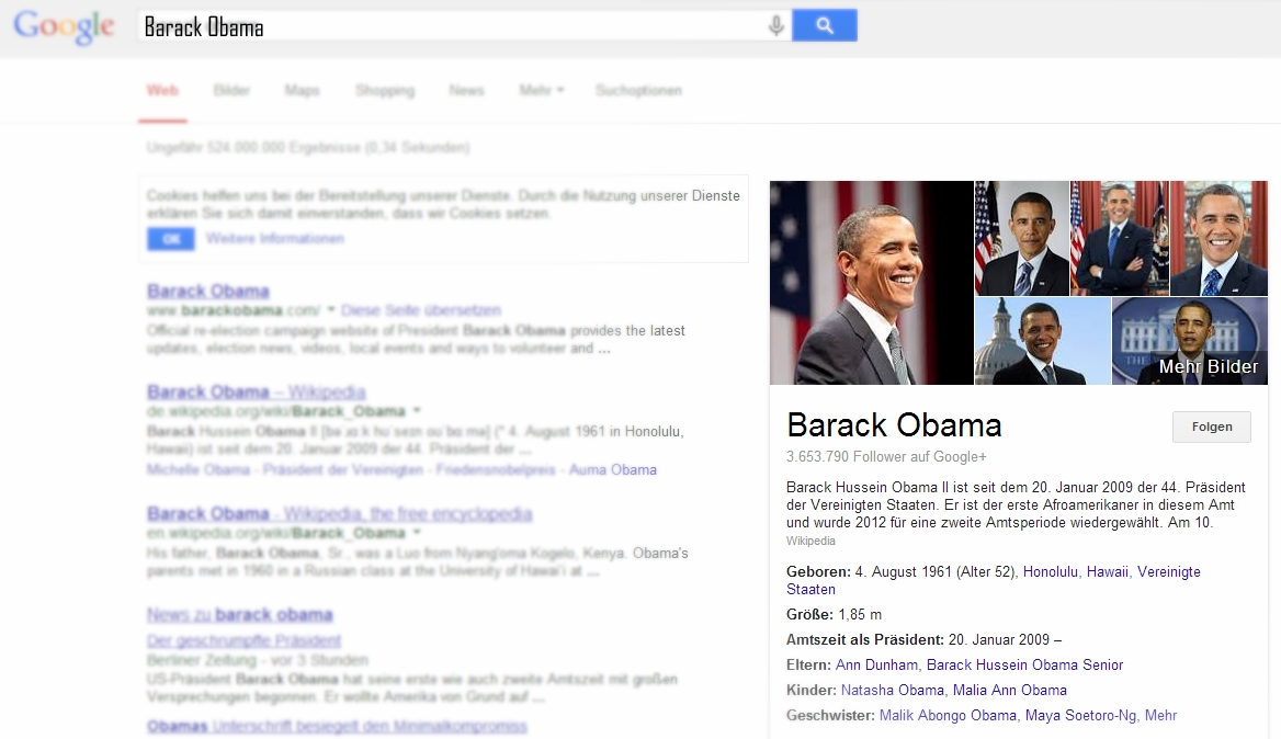 knowledge graph barack obama