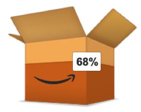 Virtuelle Versandbox von Amazon PrimePantry