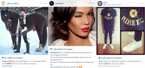 Zalando und Asos nutzen Content anderer User für ihren Account, Estee Lauder hat sogar Guest Instagrammer