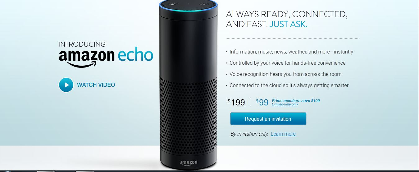 Screenshot: Amazon Echo