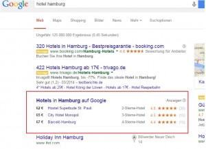 Google Hotelfinder 2