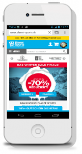 Mobile-Shop Planet Sports