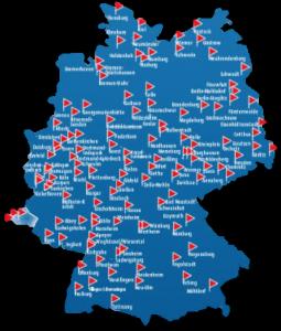 Filialübersicht Roller ( Quelle: https://www.roller.de/store-finder)