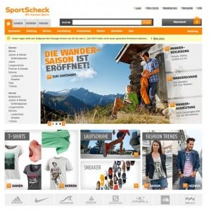 SportScheck Website