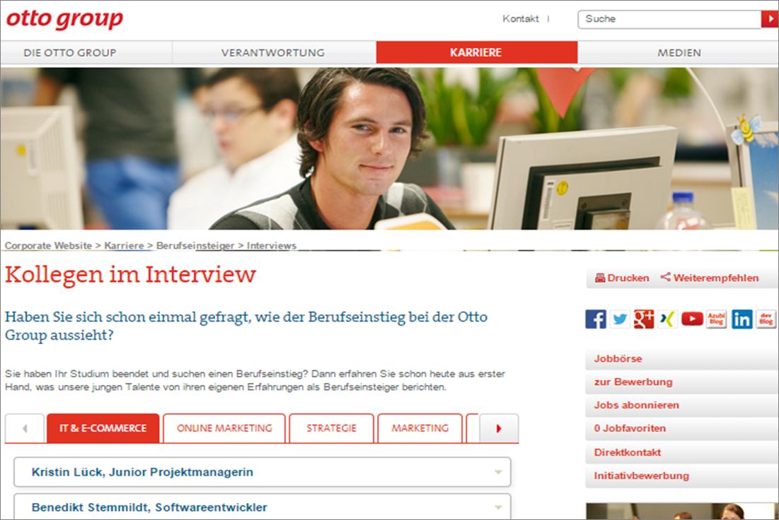 Otto Karriere Blog