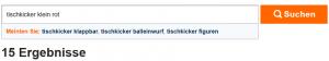 Feature Suchergebnisseite idealo.de