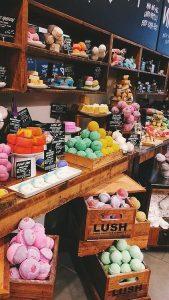 Produktdarstellung LUSH